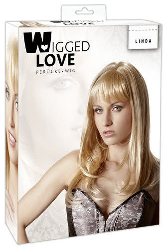 "Wigged Love - Perücke blond ""Linda"""