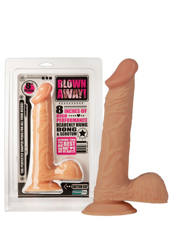 "Dildo ""Blown Away"""