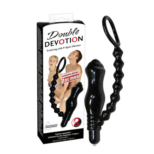 Double Devotion Cockring PSpot