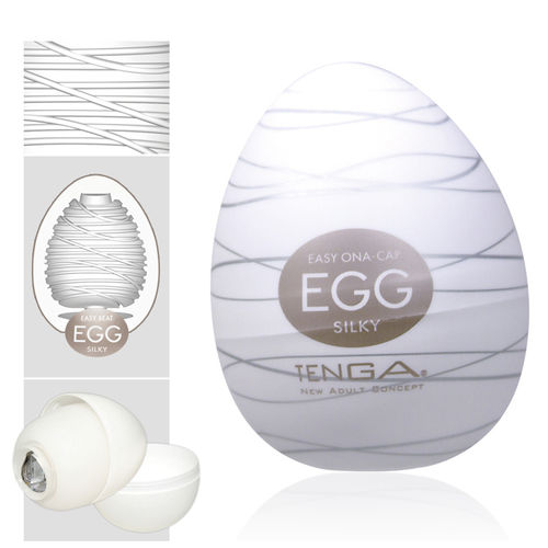 Tenga - Egg Silky Single