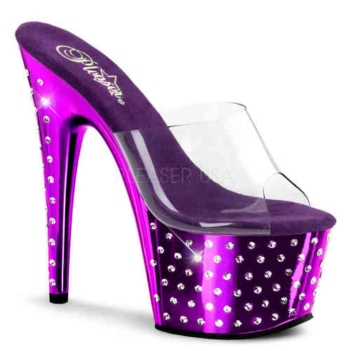 Pleaser - Stardust 701 - Plateau Purple