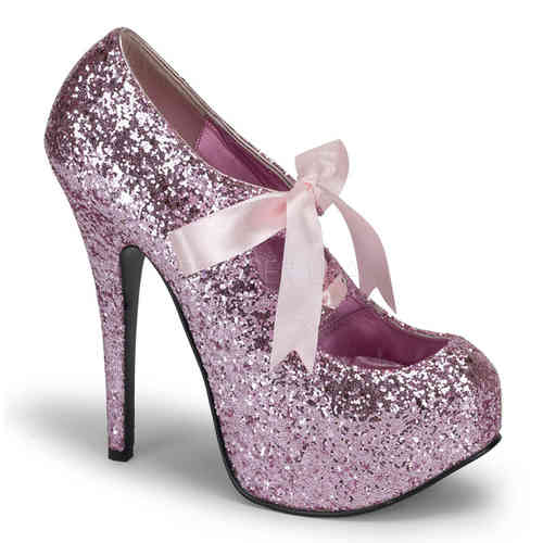 Bordello - Teeze 10G High Heels Rosa