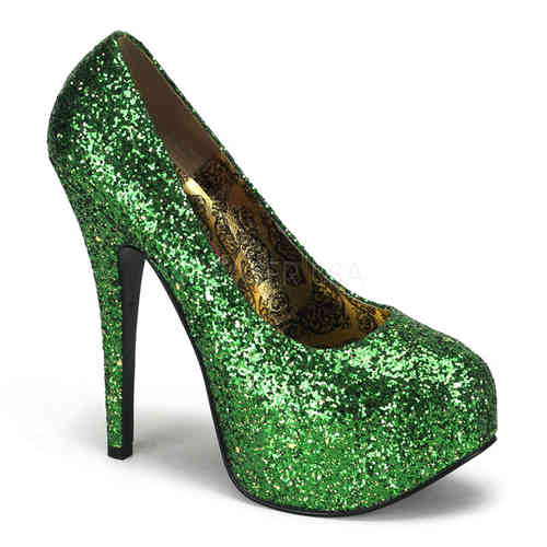 Bordello - Teeze 06G High Heels Green