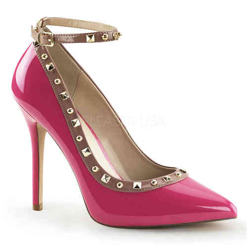 Pleaser - Amuse 28 Pumps Pink