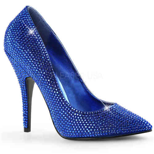 Pleaser - Seduce 420RS Pumps Blue