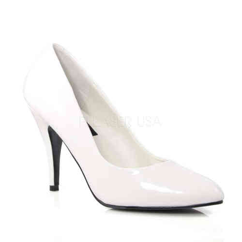 Pleaser - Vanity 420 Pumps White