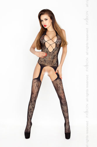 Passion - Bodystocking BS017 schwarz